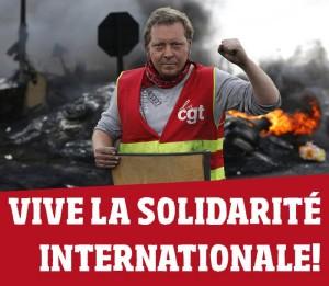 Gewerkschafter blockiert Raffinerie in Douchy-les-Mines