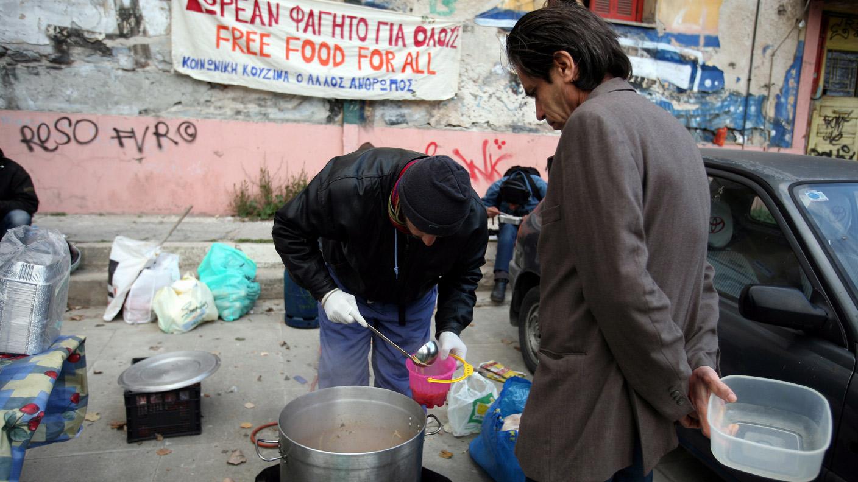 Griechenland Armut
