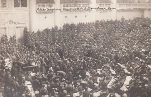 Versammlung des Petrograder Sowjet