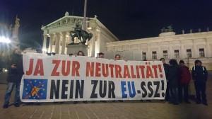 Nächste Protestaktion: am 12.12. 2017, dem Tag vor der letzten Parlamentssitzung,
