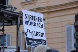 streiken wuerd ich liken
