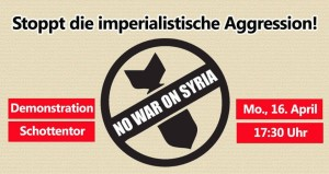 no war on syria