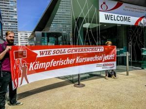 Transpi_Kaempferischer Kurswechsel JETZT_bei Bundesvorstaendekonferenz