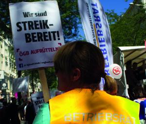 Streikbereit